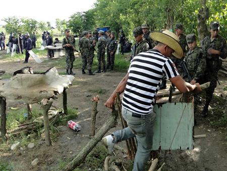 Honduras: El país de los desalojos