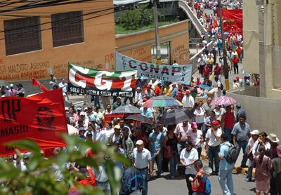 Las centrales obreras esperan la participación de al menos 30 mil trabajadores en las movilizaciones de hoy.