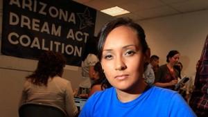 """Erika Andiola, Directora de la Asociación """"Dream Action Coalition""""."""