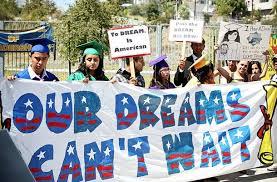 Nuestro sueños no pueden esperar dicen los jóvenes indocumentados en los Estados Unidos.