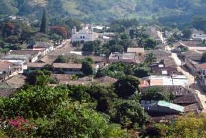 La ciudad de Gracias se localiza en la zona occidental de Honduras.