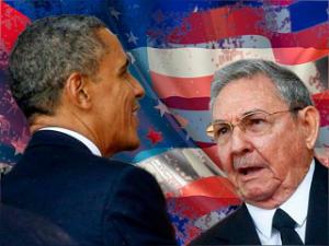 En diciembre del año pasado, tras una reunión, Barack Obama y Raúl Castro confirmaron el restablecimiento de las relaciones diplomáticas.