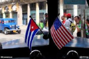 El reestablecimiento de las relaciones diplomáticas entre Cuba y Estados Unidos, fue pactado el 14 de diciembre de 2104.
