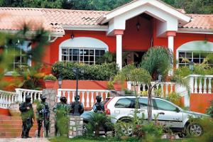 Casa de Marcello Chimirri,  que ha sido incautada y que la Cruz Roja ha anunciado que la va a remodelar.