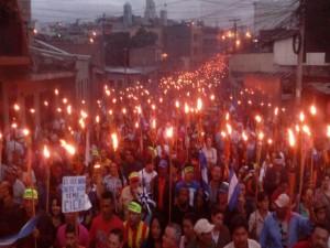 Marchas de las antorchas son legitimo reclamo del pueblo dijo Thomas Shannon.