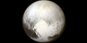 Este es el corazón de Plutón.