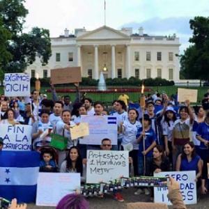 Senado estadounidense ha interpretado la petición de Honduras a través de las antorchas.