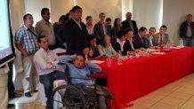 La Coalición Nacional Opositora recibió un informe sobre el funcionamiento de la CICI en Guatemala.