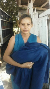 Gloria María Cálix, dio a luz en el pasillo por falta de atención médica.
