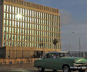 En este edificio estará la sede de la embajada de Estados Unidos en la Havana, Cuba.