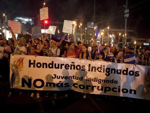 Un pueblo infelizmente luchador, el hondureño