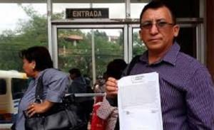 Bartolo Fuentes, congresista de LIBRE.