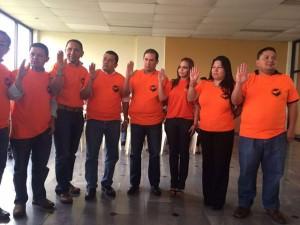 Miembros de la junta directiva del CPH.