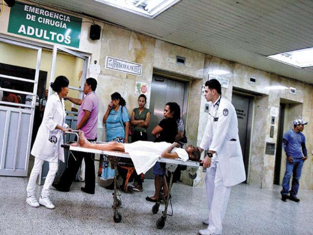 posible colapso de hospitales