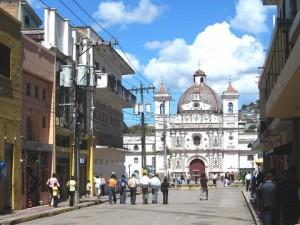 Iglesia Los Dolores, ubicada en el barrio del mismo nombre.