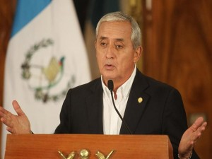 Otto Pérez Molina, aseguró el fin de semana que no renunciará.