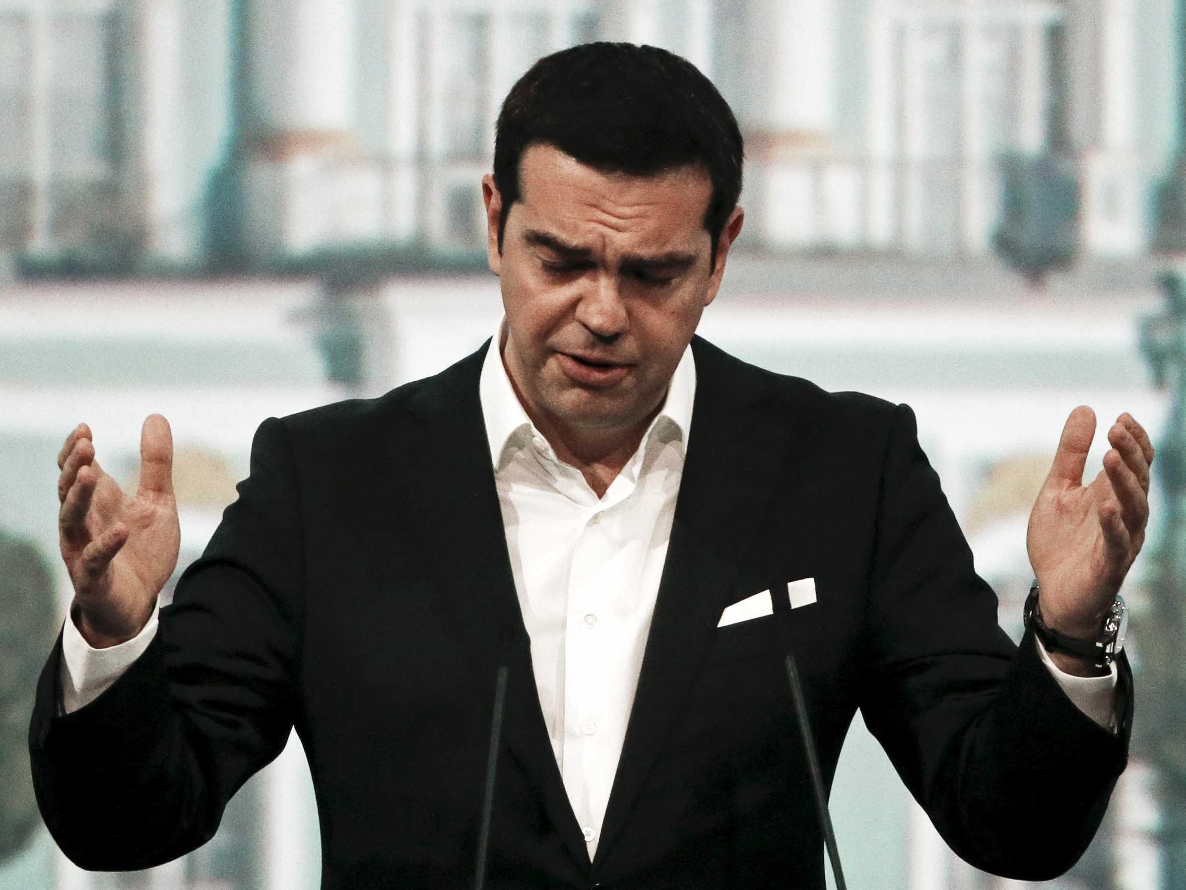 La «tragedia griega»: Tsipras abandona Syriza
