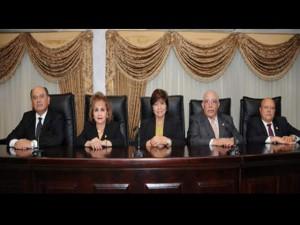 Estos son los magistrados salientes que abrieron el camino a la reelección