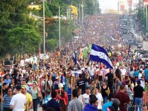 La OEA no tomó en cuenta la petición del pueblo hondureño en la movilización de las antorchas exigiendo la CICIH.
