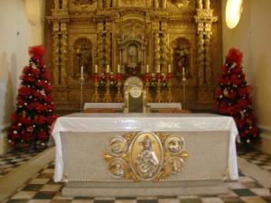 Los fondos provenientes del premio se destinaran para restaurar el retablo de la Virgen del Rosario.