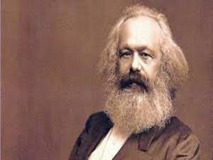Carlos Marx escritor del Manifiesto Comunista junto a federico Engels.