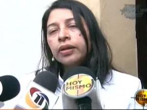La jueza Julissa Aguilar