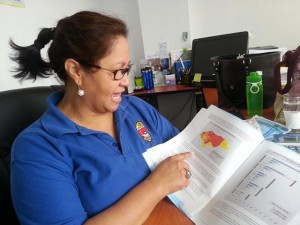 Migdonia Ayestas, directora del IUDPAS