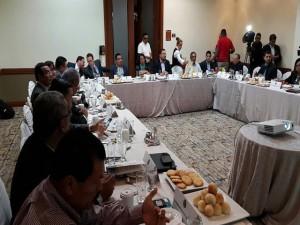 Reunion de APJ con Junta Nominadora de los candidatos a la nueva CSJ
