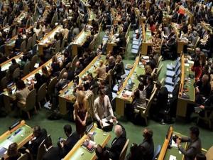 ONU en plena asamblea.