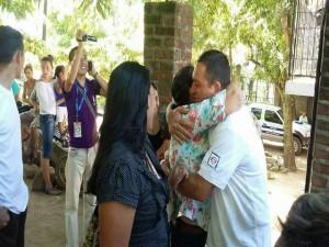 """""""Chabelo"""" Morales celebró con júbilo la absolución de su caso."""