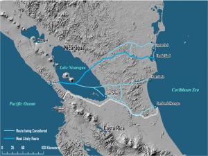 El canal de Nicaragua se convierte en la manzana de la discordia entre EE UU y Nicaragua por la participación de China Comunista.
