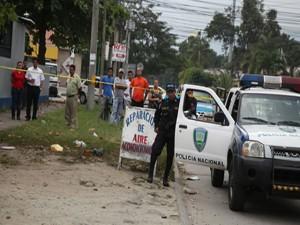 La masacre se registró en el interior de un taller mecánico de la colonia El Sitio, en Tegucigalpa.