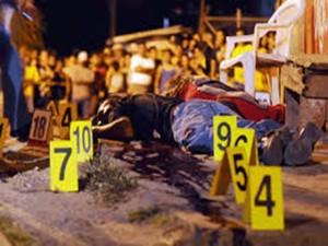 Hasta la fecha van 95 masacres con 352 muertes en el presente año.