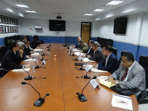 El COHEP no proporcionó imágenes de la reunión con los represnetantes de OFAC.