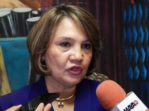 Ana Pineda, exsecretaria de Justicia y Derechoss Humanos.
