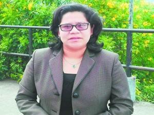Arabesca Sánchez, criminologa.
