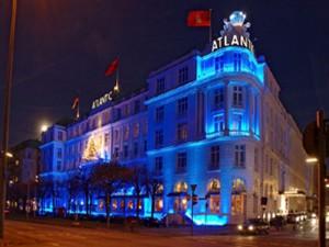 El lujoso hotel Atlantik Kempiski de Hamburgo donde se hospedó JOH.
