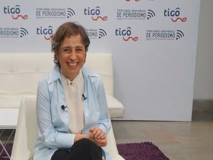 """""""Los periodistas debemos defendernos cuando se nos ataca"""", Carmen Aristegui."""