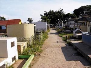 Cementerio de Juticalpa, Olancho.
