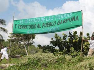 Los Garifunas están siendo despojados de sus tierras con el visto bueno del actual gobierno