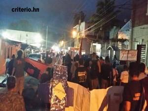 Los pobladores salieron a la calle demostrando conciencia.