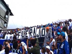 No hay forma de detener la indignación del pueblo hondureño