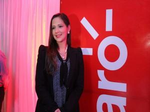 Pamela Coello, gerente de mercadeo y comunicación de Claro.