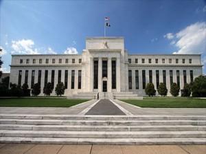 Edificio de la Reserva federal en Los Estados Unidos.
