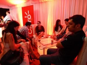 Representantes de los medios de comunicacion y agencias de publicidad durante el lanzamiento