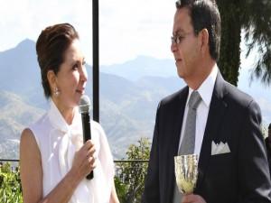 Norma Regina Gaborit y Rafael Callejas