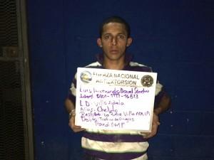 """Luis Armando David Sánchez alias """"el Chelito"""""""