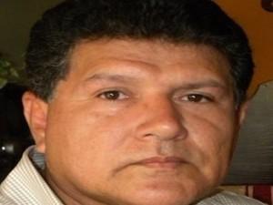 El periodista Gustavo Palencia.