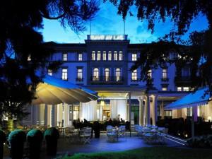 En el hotel Baur au Lac de Zúrich, se llevó a cabo la captura de Alfreedo Hawit Banegas.