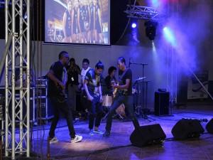 Al final hubo un concierto de los Bohemios del Reggaeton.